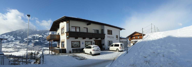 Winter in the Zillertal
